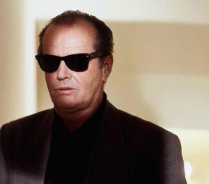 Джак Никълсън с Рейбан Уейфеър